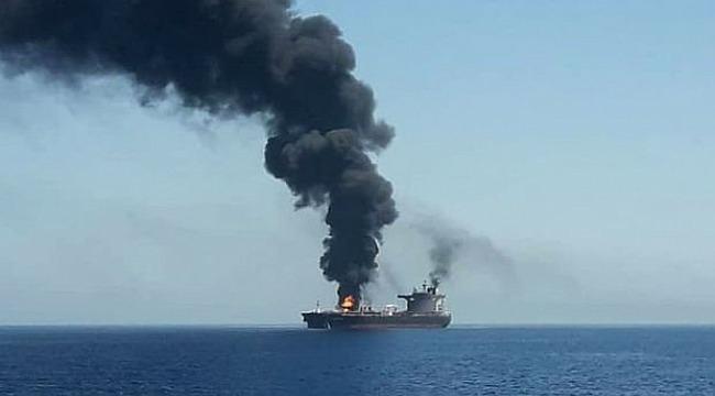 ABD Umman Denizi'ndeki saldırılar için İran'ı suçladı