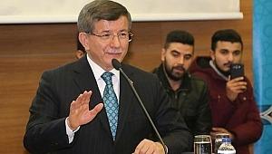 Ahmet Davutoğlu'ndan yeni parti mesajı