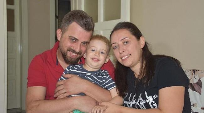 Babalar Günü öncesi, DMD hastası oğlu için sağlık istedi