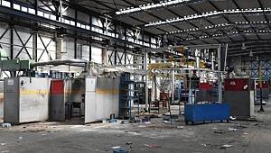 Bir zamanlar Türkiye'nin en büyük fabrikası, şuan yağmalanıyor!