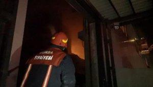 Bursa'da, şişe deposunda yangın - Bursa Haberleri