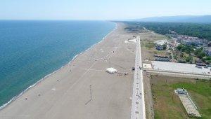 Çalışmalar sona geldi...Tamamlandığında Türkiye'nin en uzun plajı olacak - Bursa Haberleri