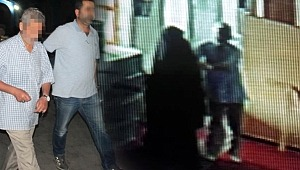 Camiye gelen genç kızı taciz iddiası