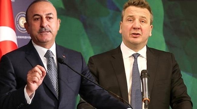 Çavuşoğlu, mevkidaşıyla görüştü: