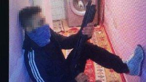 Cezaevi firarisi elindeki bıçakla yakalandı