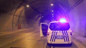 Dolmabahçe-Bomonti Tüneli'nde motosiklet kazası: 1 ölü
