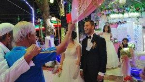 Düğünde iyi oynamayan hakeme kırmızı kart gösterdi