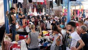 Edirne pazarına Yunan ve Bulgar akını