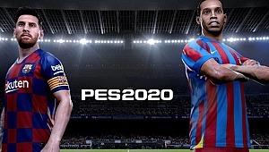 eFootball PES 2020'de Ronaldinho sürprizi