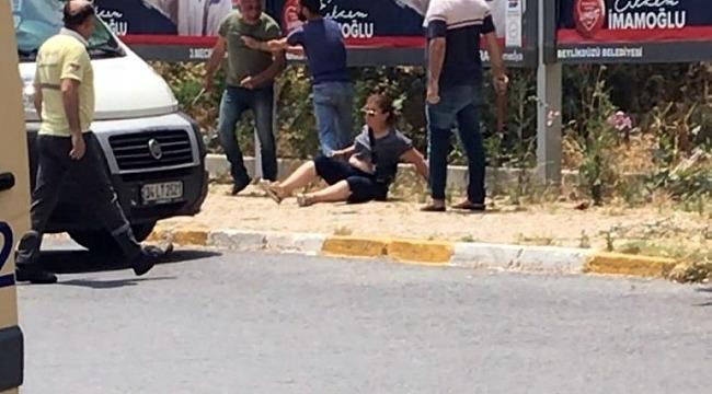 Eşini sokak ortasında bıçaklayıp kaçmıştı... Yakalandı