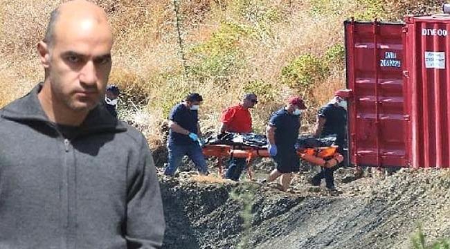 Güney Kıbrıs'taki katil subayın öldürdüğü küçük kızın cesedine ulaşıldı
