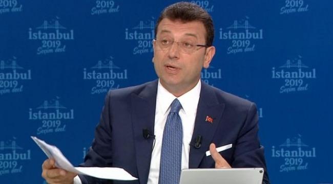 İmamoğlu, Cumhurbaşkanı Erdoğan'ın Sisi benzetmesine cevap verdi
