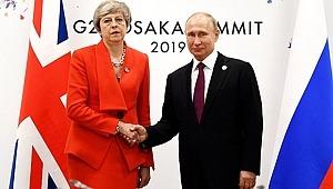 İngiltere Başbakanı May ile Rusya Lideri Putin arasındaki görüşme G-20'ye damga vurdu