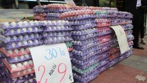 Irak kararınını ardından yumurta fiyatı dip yaptı