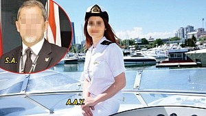 İş adamından kadın kaptana 'özel görüntüyle şantaj'