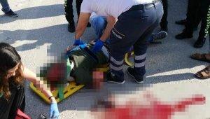 Kamyonetin çarptığı motosikletin sürücüsü ağır yaralandı - Bursa Haberleri