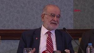 Karamollaoğlu, başkan adayıyla birlikte basın toplantısı düzenledi