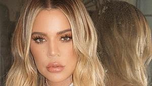 Khole Kardashian, eski eniştesi önünde soyundu