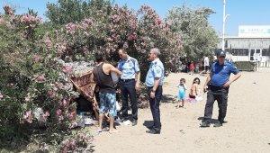 Kumsaz'da çadır operasyonu - Bursa Haberleri