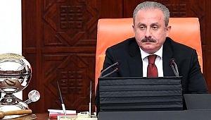 Meclis Başkanı Mustafa Şentop'tan İmamoğlu'na tebrik mesajı