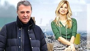 Mehmet Ali Erbil'in eski eşi, Beşiktaş Başkanı Fikret Orman ilk kez görüntülendi