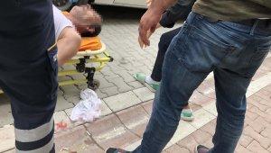 Oğlunun yediği trafik cezasına sinirlenen baba böyle sinir krizi geçirdi
