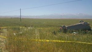 Otomobil buğday tarlasına uçtu: 3 ölü, 4 yaralı