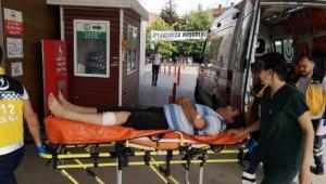 Polis memuru ağaç budarken bacağını kesti - Bursa Haberleri
