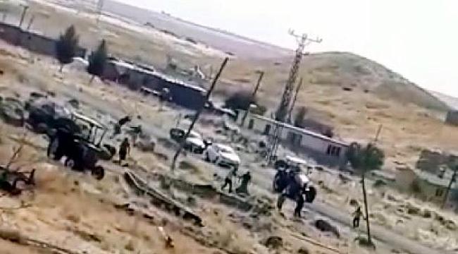 Siverek'te 4 kişinin öldüğü çatışma anı kamerada
