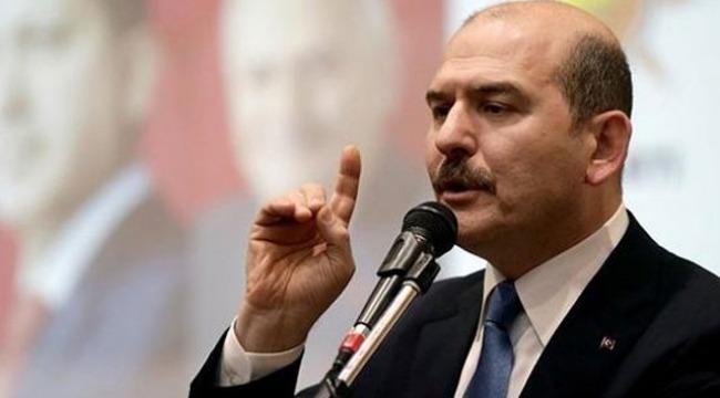 """Soylu, """"Onun üzerinden PKK İstanbul'a sızmaya çalışıyor"""""""