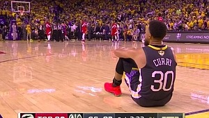 Stephen Curry, 6. maçtan sonra duvarları yumrukladı