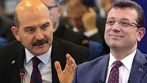 Süleyman Soylu'dan, Ekrem İmamoğlu'na 'it' çıkışı