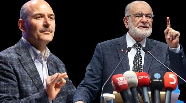 Süleyman Soylu, Temel Karamollaoğlu'nun pasaportunun terörle iltisaklı iddiasına yanıt verdi