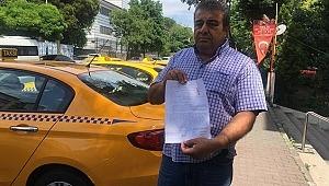 Taciz iddiasıyla saldırıya uğrayan taksici olayı anlattı