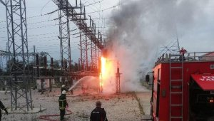 Trafo merkezinde yangın - Bursa Haberleri