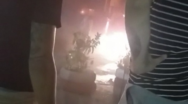 Uludağ yolunda korkutan yangın - Bursa Haberleri