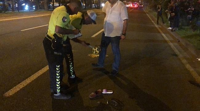 Yolun karşısına geçmek isteyen anne ve kızı kazada hayatını kaybetti