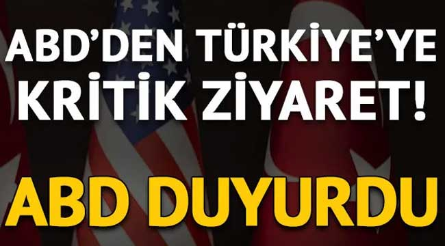 ABD'nin Suriye Özel Temsilcisi James Jeffrey Türkiye'ye geldi