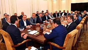 AK Partili ilçe belediye başkanlarından İmamoğlu'na ziyaret