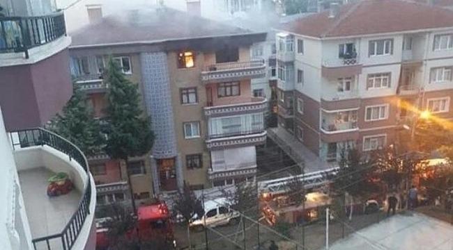 Alevlerin arasında kalan küçük kızını kurtarmaya çalışan baba, dumanlara yenik düştü