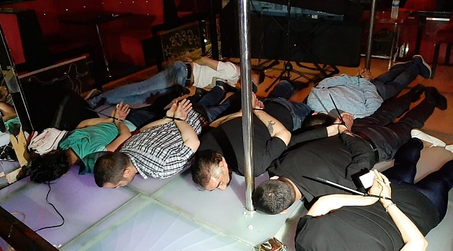 Ankara'da 'avcı kız' operasyonu: 125 gözaltı