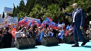 Binali Yıldırım'ın 23 Haziran seçimi sonrası ilk mitingi: