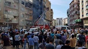 Bursa'da patlama! Binayı alevler sardı, vatandaşlarda büyük paniğe neden oldu!