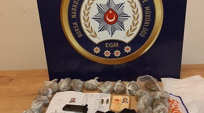 Bursa'da uyuşturucu operasyonunda 2 kişi tutuklandı - Bursa Haberleri