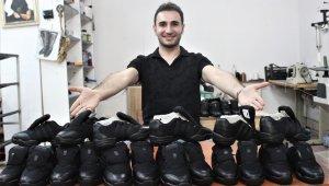 Dans ayakkabılarını o üretiyor - Bursa Haberleri