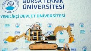 Elektrikli, uzaktan kumandalı iş makinesi projesi geliştirdi - Bursa Haberleri