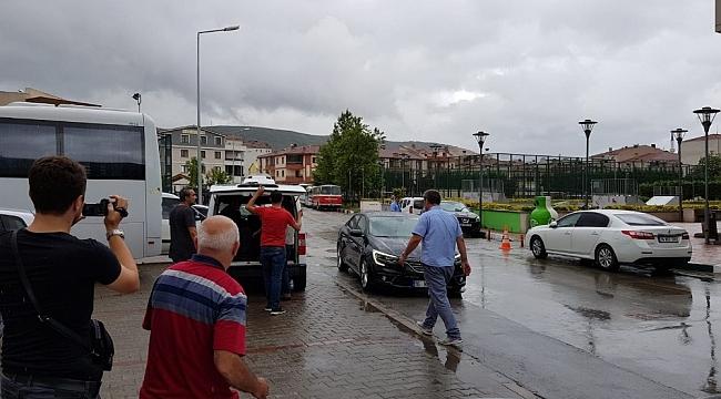 Gemlik'te izinsiz eyleme 8 gözaltı - Bursa Haberleri