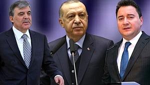 Gül ve Babacan, Erdoğan'ın