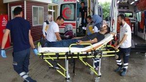 İnegöl'de kazalar peş peşe geldi: 12 yaralı - Bursa Haberleri