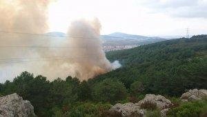İstanbul'da korkutan yangın, ekipler müdahale ediyor